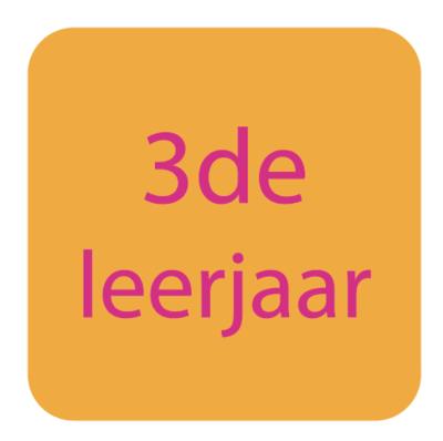 3de leerjaar | Rekenen - Taal | Pasen 2019