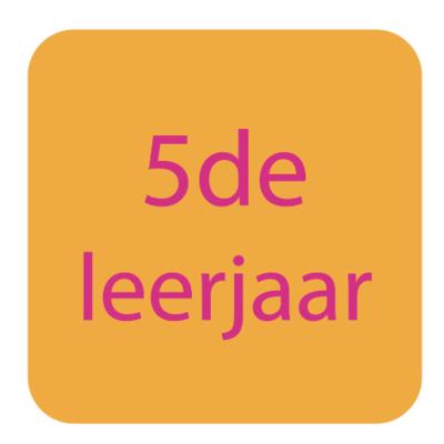5de leerjaar | Rekenen - Taal - Frans |  | Pasen 2019