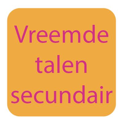 Secundair 1ste, 2de en 3de | Vreemde talen en leren leren | Pasen 2019