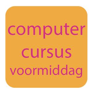 computercursus voormiddag
